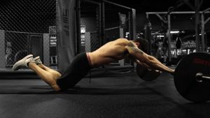 Barbell Ab Rollout