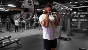 Barbell Cheat Curls