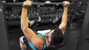 Troy incline bench press