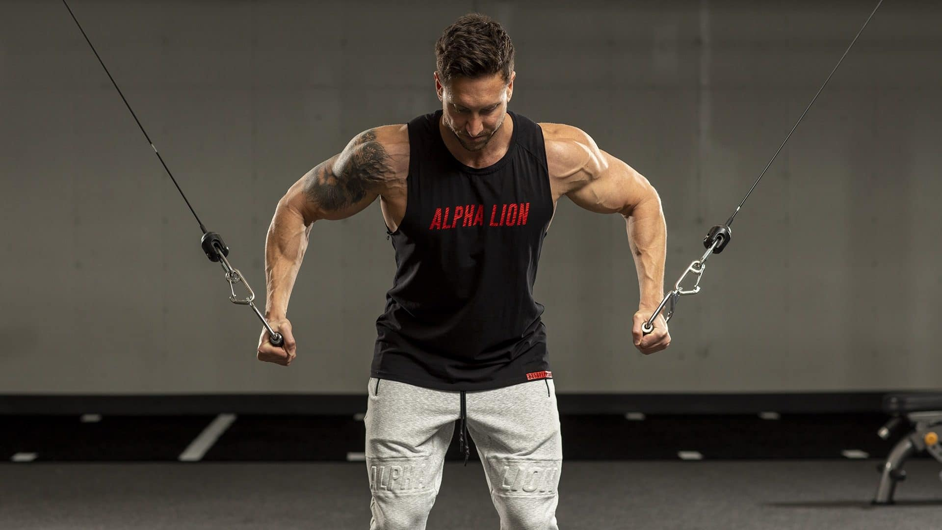 Troy muscle gain exercise
