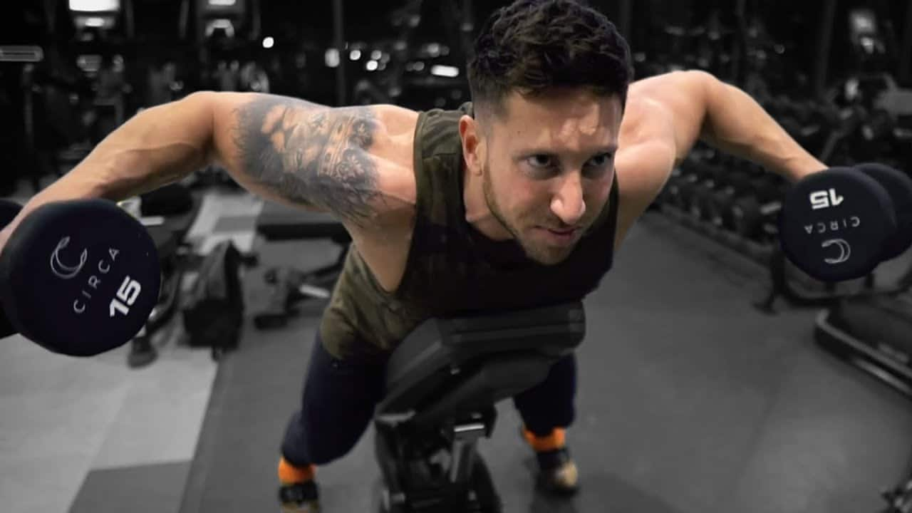 Incline Bench Reverse Fly