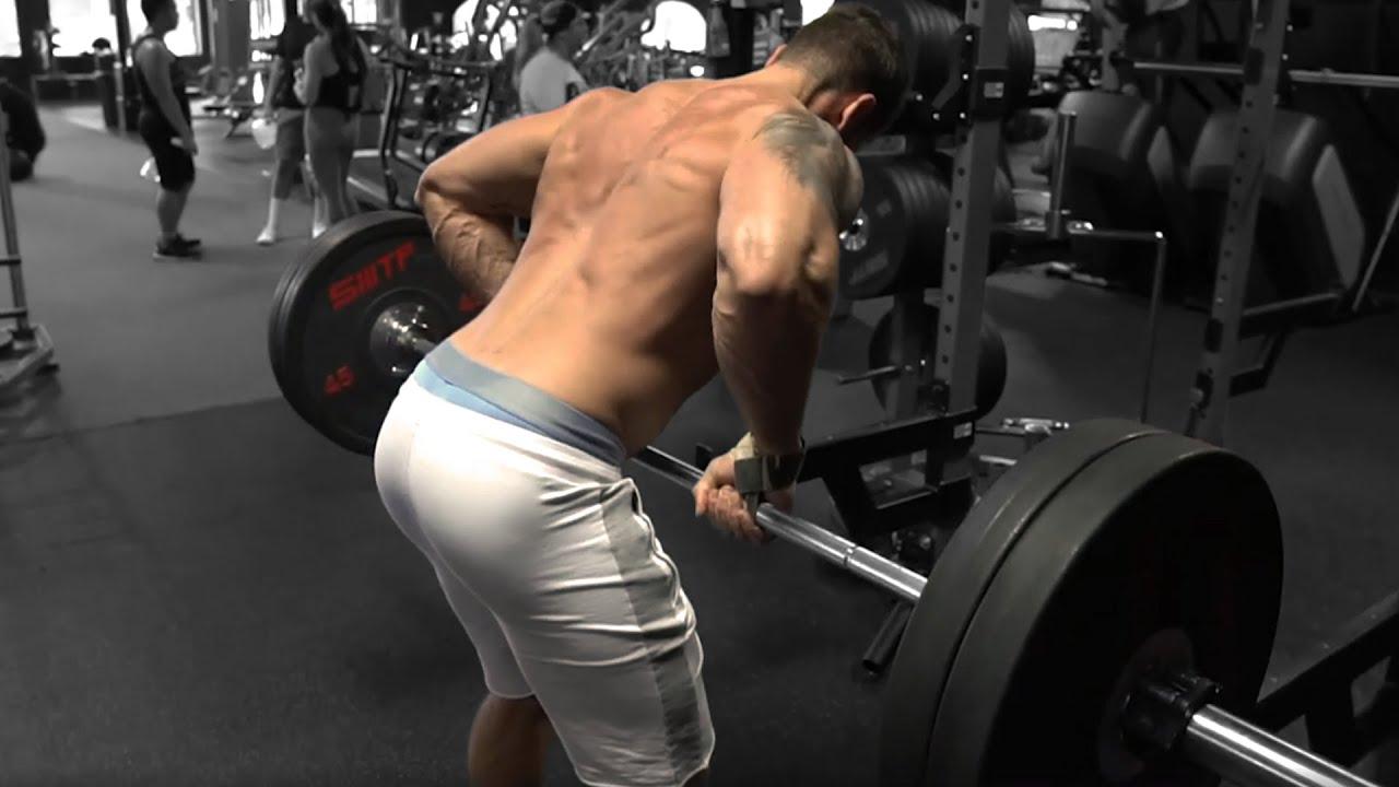Troy pendlay row barbell exercise