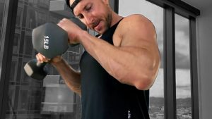 Pronated Dumbbell Curls