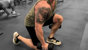 Split Leg Lunge Jumps