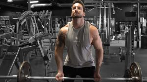Underhand Barbell Row