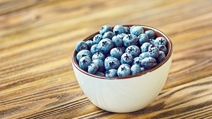 Lose Belly Fat - Blueberries
