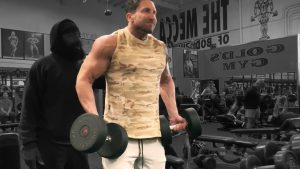 Dumbbell Supinated Shrugs