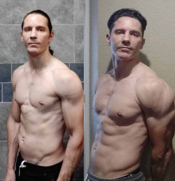 Marcello - before and after
