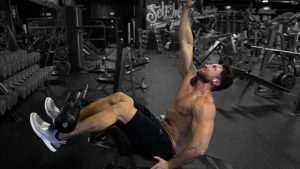 Single Arm Decline Crunch
