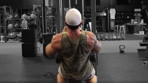 V Bar Lat Pulldown