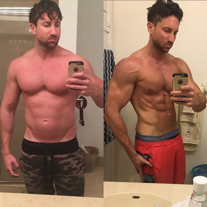 Get Ripped Program - Before & After