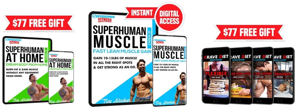 SuperHuman Muscle bundle