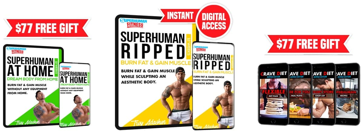 Superhuman Ripped Bundle